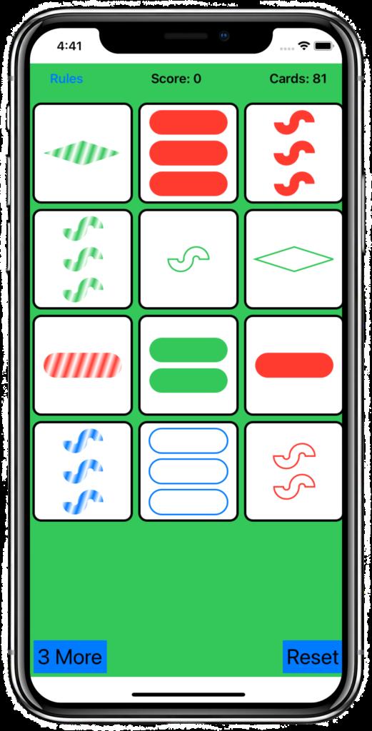 Set Matching Game